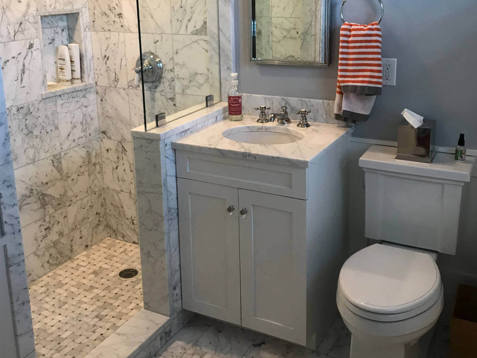 custom bathroom builder in acton massachusetts