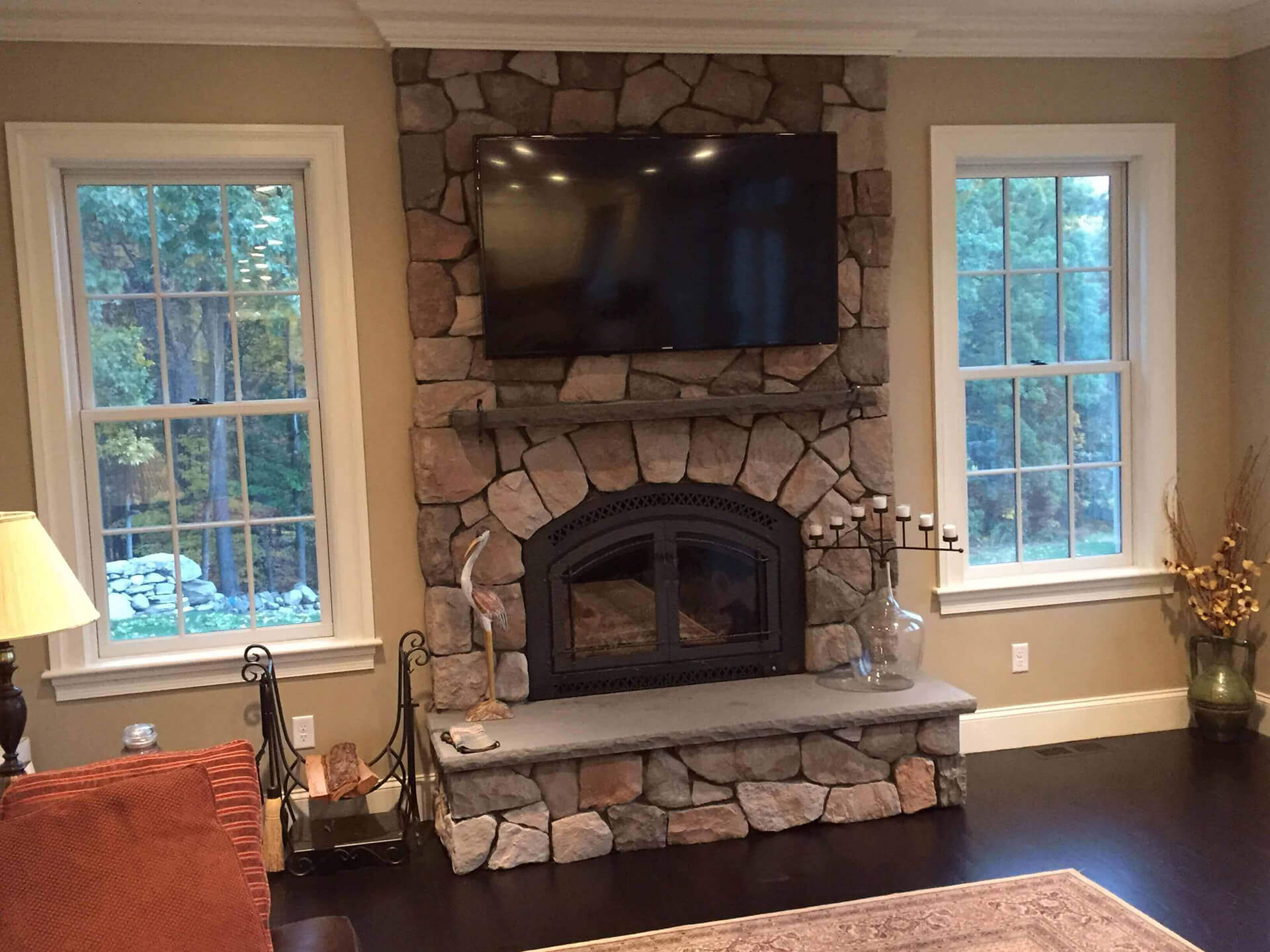custom fireplace builder and design firm in acton massachusetts